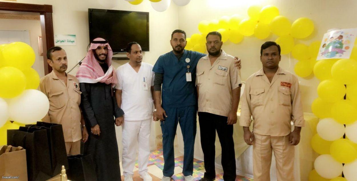 تطوعي_صحة٣ بمركز الرعاية الصحية الأولية بالمقرح