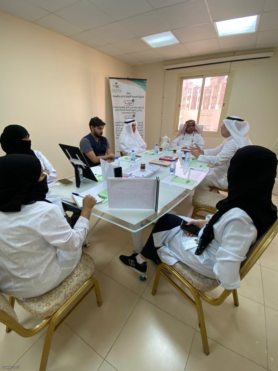مركز صحي كدي والهجرة يستضيف فريق التمكين المجتمعي لخطة مشاريع ٢٠٢٠ م