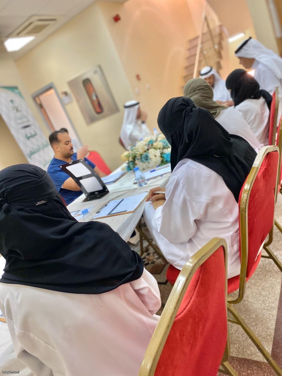 مركز صحي البحيرات يستضيف فريق التمكين المجتمعي لعام ٢٠٢٠