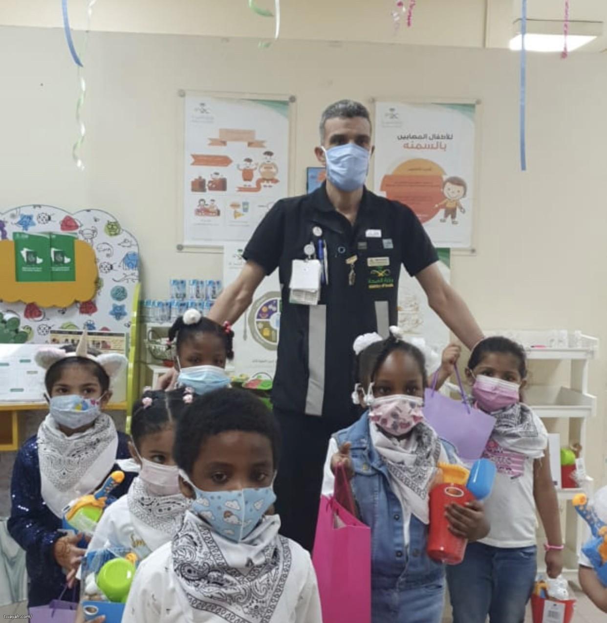 اليوم العالمي للطفل بمركز صحي النوارية